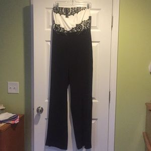 NY&C Strapless Jumpsuit
